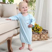 春夏款婴儿衣服新生儿套装宝宝睡衣睡袍婴幼儿睡裙连体衣
