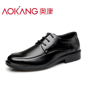 奥康男鞋新款男士皮鞋商务休闲正装男鞋英伦牛皮鞋