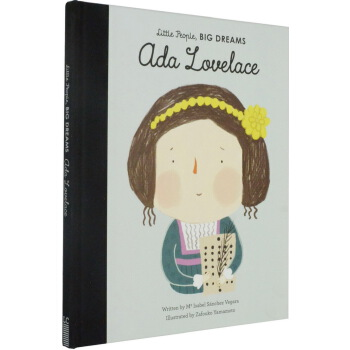 小小孩大梦想英文原版 Little People Big Dreams 阿达·洛芙莱斯 Ada Lovelace