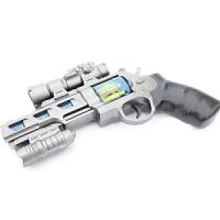 声音灯光玩具抢 儿童玩具枪2-3-9岁男孩电动声光音乐左轮宝宝