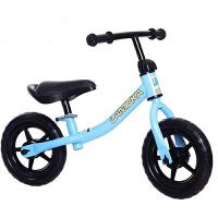 儿童平衡车滑行车1-2-3-6岁宝宝滑步车小孩无脚踏双轮溜溜自行车 天蓝色 10寸适合2-5岁