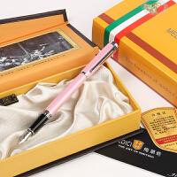 MEDICI/梅第奇 209铱金笔(珍珠粉笔杆)但丁系列钢笔男女生情侣生日礼物礼品笔男女中小学生练字办公钢笔墨水笔 当