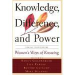 【预订】Knowledge, Difference, and Power: Essays Inspired by
