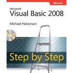 【预订】Microsoft Visual Basic 2008 Step by Step [With
