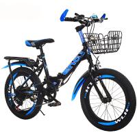 儿童山地自行车18/20/22寸变速自行车小学生折叠自行车男女孩单车