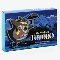 【中商原版】�m崎�E:���(10��立�w卡片+信封)英文原版 My Neighbor Totoro Pop-Up Notec