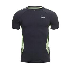 特步男子短袖2016年夏季新款舒适884229019201