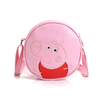 韩版儿童包包女童斜挎包时尚公主包可爱手提包小女孩宝宝单肩 粉