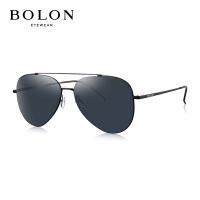 BOLON暴龙2018新款男复古蛤蟆镜金属框太阳镜潮流墨镜眼镜BL8020
