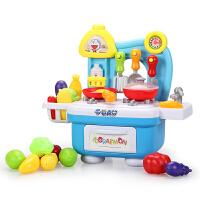 儿童过家家厨房玩具女孩做饭煮饭过家家厨房宝宝厨具餐具套装
