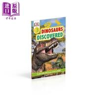 【中商原版】寻找恐龙 DK Readers Level 2 Dinosaurs Discovered DK小读本2级 分