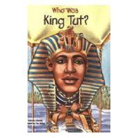 【现货】英文原版 Who Was King Tut? 图坦卡门法老是谁? 名人传记 中小学生读物