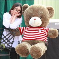 抱抱熊毛绒玩具可爱泰迪熊毛衣熊布娃娃玩偶大号送女友情人节礼物