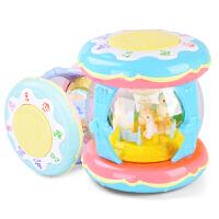 宝宝手拍鼓儿童音乐拍拍鼓婴儿早教益智1岁0-6-12个月3可充电玩具