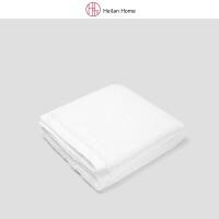 白色家用洗漱海绵毛巾34×85cm HeilanHome/海澜优选生活馆