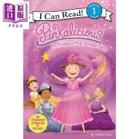 【中商原版】I Can Read Level 1 我可以读1级 粉红控 Pinkalicious the princes