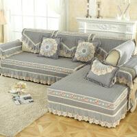 沙发垫冬客厅四季简约现代通用欧式真皮防滑布艺实木全包罩套盖巾