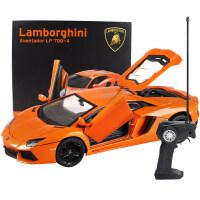 美致兰博基尼合金遥控汽车模型开门充电动赛车漂移儿童玩具车男孩1儿童节礼物