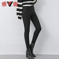【一件三折】雅鹿高腰显瘦加厚大码保暖裤羽绒裤