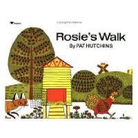 【现货】英文原版 Rosie's Walk 《母鸡萝丝去散步》经典少儿获奖平装绘本 廖彩杏书单推荐