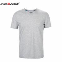 杰克琼斯/JackJones时尚百搭新款T恤 纯色-8-1-1-216201010106