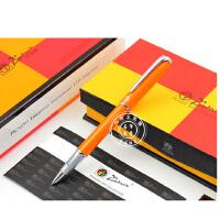 毕加索PS-916马拉加橙黄特细财务笔/钢笔/墨水笔 礼品笔