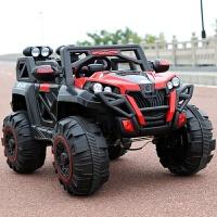 儿童电动车四轮越野汽车1-8岁可坐大人双人遥控小孩玩具车宝宝车