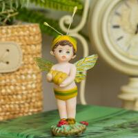 欧式花仙子创意卧室客厅儿童房间装饰品小摆件可爱送女生圣诞礼品
