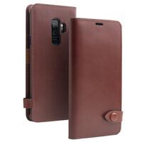 包邮支持礼品卡 三星 galaxy s9+ 手机套 真皮 商务 s9 手机壳 plus 翻盖 插卡 保护皮套