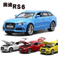 奥迪RS6合金车模型可开门儿童玩具汽车回力车越野车男孩玩具车