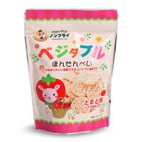 日本木西 西红柿味薯饼米饼饼干 非油炸脆薯饼 宝宝儿童零食品