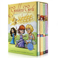英文原版 The Goddess Girls Charming Collection Books 9-12: Pand