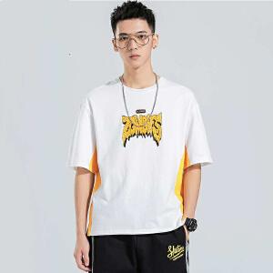 青少年短袖t恤男宽松韩版潮流学生2019新款夏季夏装衣服