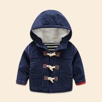 0-1岁婴儿冬装男童加厚外套6-12个月新生儿外出服女宝宝加绒上衣3