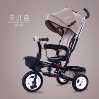 20190709183826836婴儿三轮车脚踏车可折叠儿童手推车0至6岁大号男女宝宝玩具车