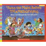 【预订】Twas the Night Before Thanksgiving Y9781417827176