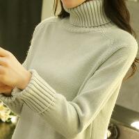 高领毛衣女秋冬新款2018韩版宽松套头学生长袖内搭针织打底衫百搭