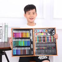 儿童绘画玩具文具套装画笔箱水彩笔蜡笔画画礼盒男女孩微商款礼物