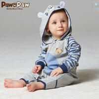 【2件2.5折 到手价:125】Pawinpaw宝英宝卡通小熊童装秋季款款连体衣PBSU73881S