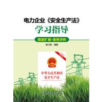电力企业《安全生产法》学习指导(精读扩展・案例评析)