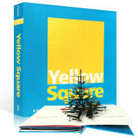 英文原版进口立体书 Yellow Square Classic Collectible Pop-Up 黄色方形 绘本艺