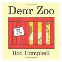 【现货】英文原版  亲爱的动物园 Dear Zoo  低幼启蒙纸板书 吴敏兰推荐 0-3岁适读 18P