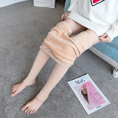孕妇打底裤袜秋冬季加绒2018新款孕妇丝袜托腹可调节连裤袜子