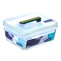 三光云彩 钢化耐热玻璃扣保鲜盒饭盒 碗饭盒 密封便当盒饭盒四面锁扣 保鲜盒RP603