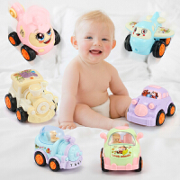 小孩玩具车男孩0-1-2-3-4岁惯性小汽车女孩宝宝火车婴幼儿童智力