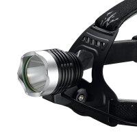 K11强光远射LED头灯大容量锂电池可充电头戴式换饵灯钓鱼灯矿灯