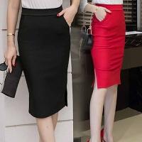 200斤胖MM加肥加大码春装韩版时尚半身裙高腰修身中长包臀裙潮