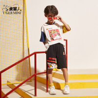 【2件3折到手价:40.8元】小虎宝儿童装男童t恤短袖潮2020夏季新款儿童韩版上衣中大童洋气