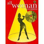 【预订】All Woman Songbirds [With CD (Audio)]