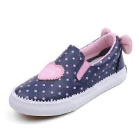 回力童鞋春秋款一脚蹬透气单鞋男童运动鞋女童防水中大童板鞋潮流
